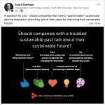 Développement durable, greenwashing et autres actualités